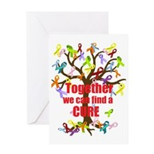 Together we can find a CURE Greeting Card