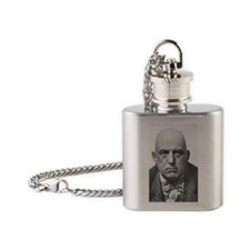 Crowley Flask Necklace