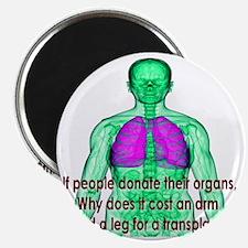 Organ Donor Rip-Off Magnet