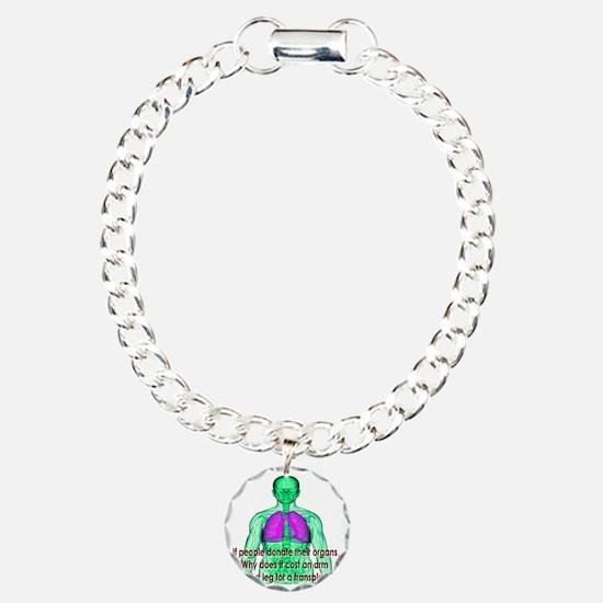 Organ Donor Rip-Off Bracelet