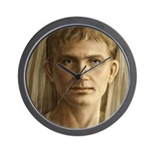 14x10 Emperor Augustus Wall Clock