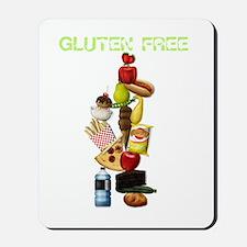 Make Mine Gluten Free - darks Mousepad