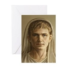 9x12 Emperor Augustus Greeting Card