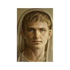 9x12 Emperor Augustus Rectangle Magnet