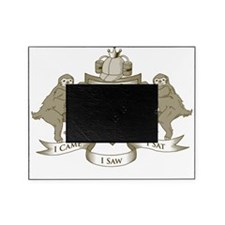 Couch Potato Coat of Arms Picture Frame
