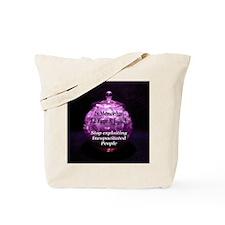 Stop Exploiting Incapacitated Tote Bag