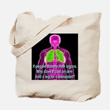 Organ Donor Rip-Off Tote Bag