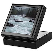 Rocky Mountains: Kicking Horse River Keepsake Box