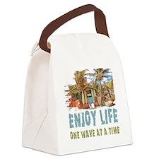 Enjoy Life Canvas Lunch Bag