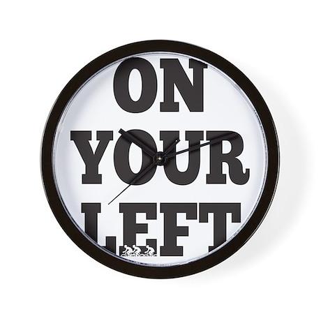 OYL_Black Wall Clock