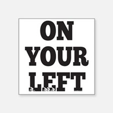 "OYL_Black Square Sticker 3"" x 3"""