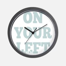 OYL_Blue Wall Clock
