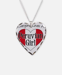 Everyone Loves Peruvian Girl Necklace Heart Charm