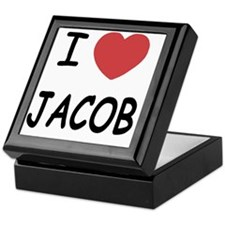 i heart jacob Keepsake Box