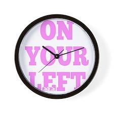 OYL_Pink Wall Clock