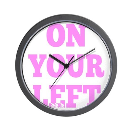 OYL_Pink Wall Clock