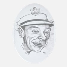 Barney Fife Oval Ornament