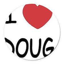 i heart doug Round Car Magnet