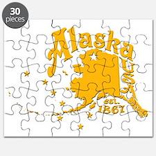 ALASKA 1867 GOLD Puzzle