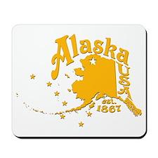 ALASKA 1867 GOLD Mousepad