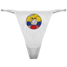 Ecuador Flag World Cup Football Futb Classic Thong