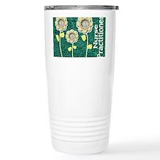 Nurse Practitioner Flowers Tote Travel Mug