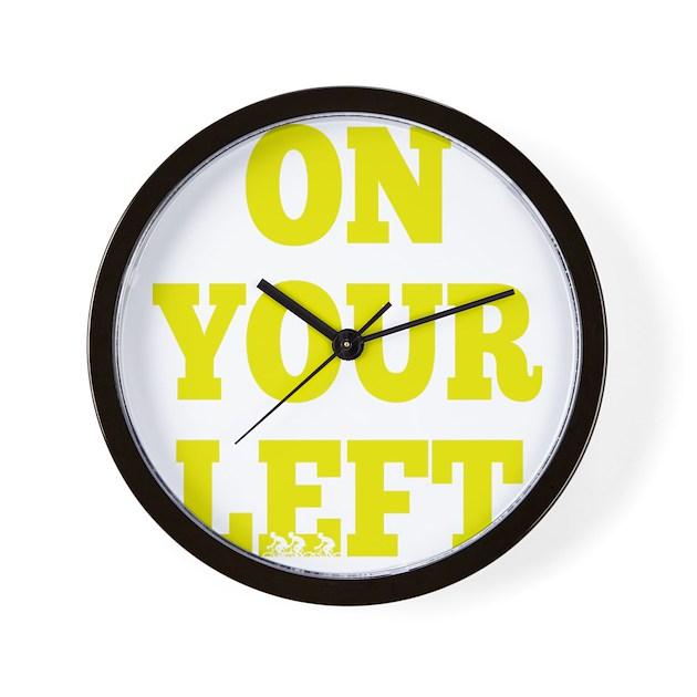 oyl yellow wall clock by admin cp22754