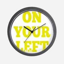 OYL_Yellow Wall Clock