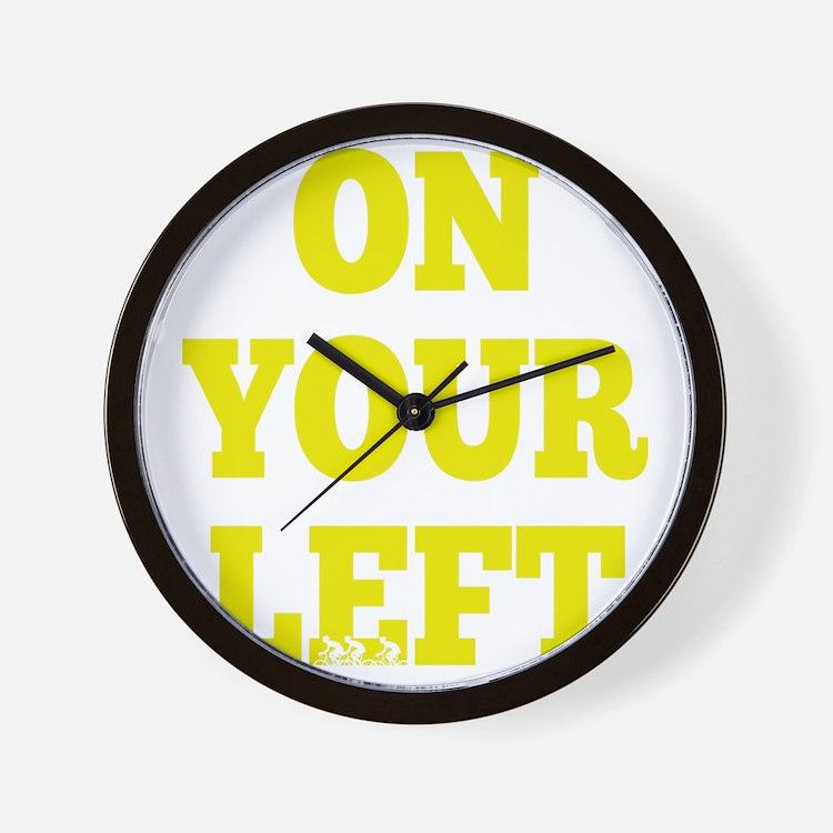 OYL_Yellow Wall Clock