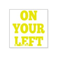 "OYL_Yellow Square Sticker 3"" x 3"""