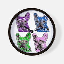 Hard Rock Ted Wall Clock
