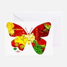 Wellness Butterfly Greeting Card