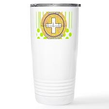 Nurse Practitioner lime and pol Travel Mug