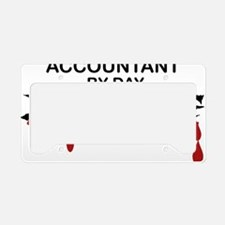 accountant zombie License Plate Holder