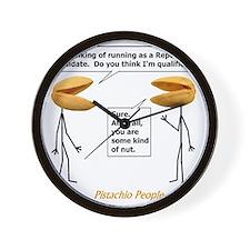 Republican Nut Wall Clock