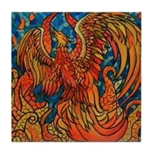 Haven Phoenix Tile Coaster