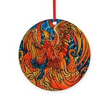 Haven Phoenix Round Ornament