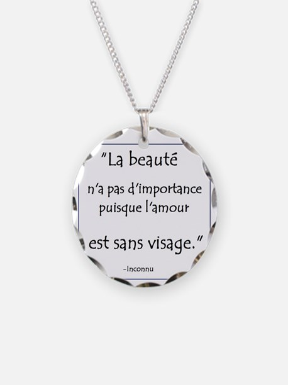 L'amour Sans Visage Necklace