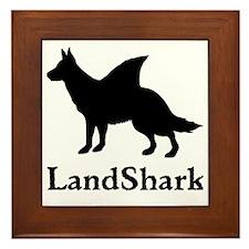 LandShark Large Framed Tile