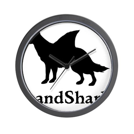 LandShark Large Wall Clock