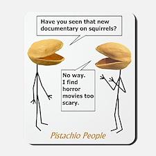 Pistachio Nut Horror Mousepad
