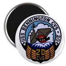 uss bennington cvs patch transparent Magnet