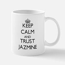 Keep Calm and trust Jazmine Mugs