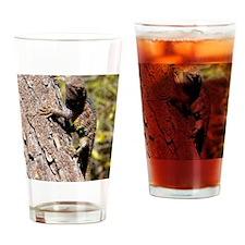 notecard---lizard-tempe-arizona Drinking Glass