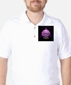 Charity begins at home with f Golf Shirt
