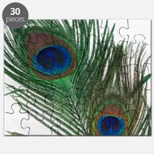 Lovely Peacock Feathers Puzzle
