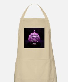 God is love and so much more BBQ Apron