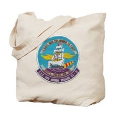 uss bon homme richard cv patch transparen Tote Bag