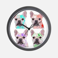 Plasticized Ted Wall Clock