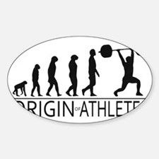 The Origin of Athletes Decal